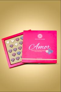 caixa de chocolate amor