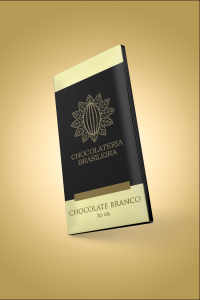 barra de chocolate branco