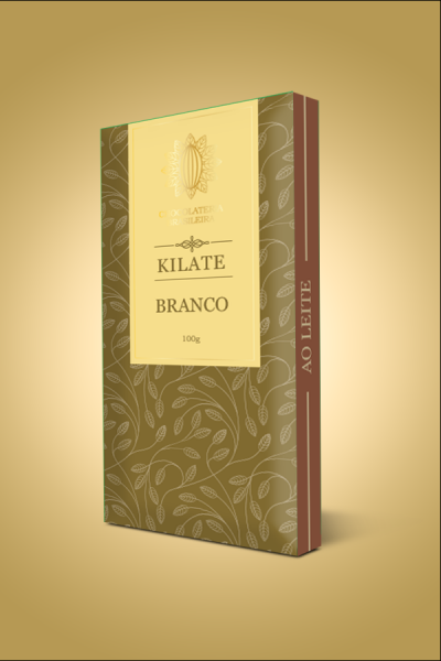 barra de chocolate branco - kilate