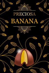 trufa de banana - preciosa