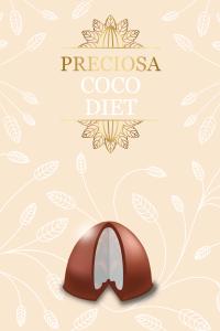 trufa de coco - preciosa diet