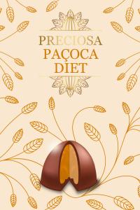 trufa de paçoca - preciosa diet