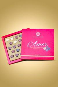 caixa de chocolate amor - Chocolateria Brasileira