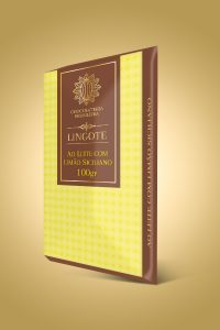 chocolate ao leite com limão siciliano