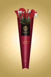 rosas de chocolate da Chocolateria Brasileira
