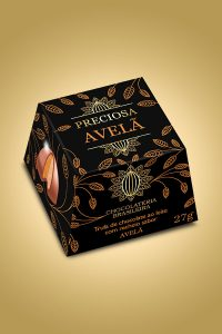 Trufa de avelã - Chocolateria Brasileira