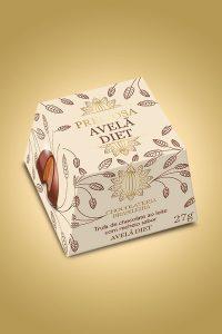 Trufa de avelã diet - Chocolateria Brasileira