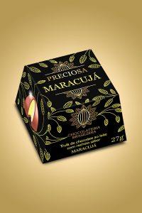 Trufa de maracujá - Chocolateria Brasileira