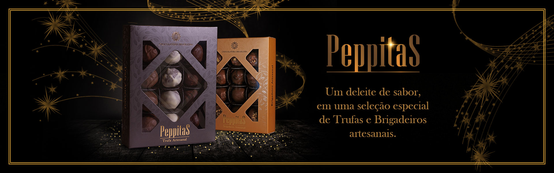 peppitas: trufas e brigadeiros artesanais - Chocolateria Brasileira