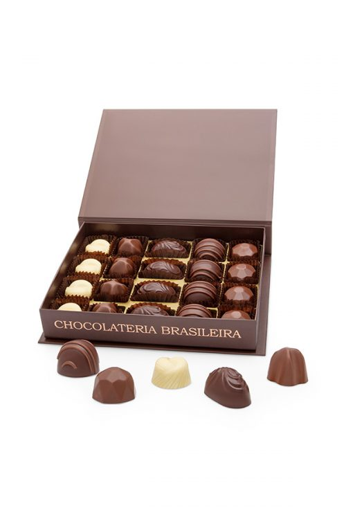caixa de bombom de chocolate conceito sublime - chocolateria brasileira