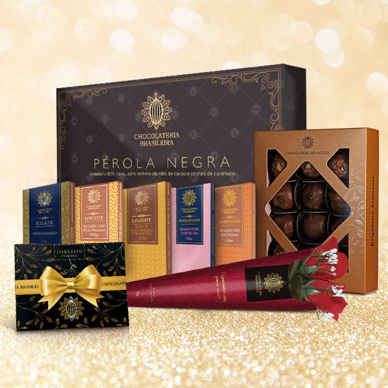 chocolates finos para presentes - chocolateria brasileira