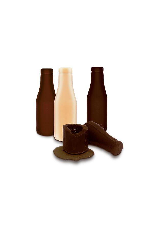 chocolates com bebidas alcoólicas para saborear e presentear