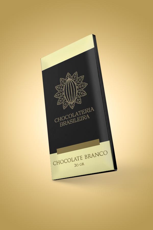 barra de chocolate branco